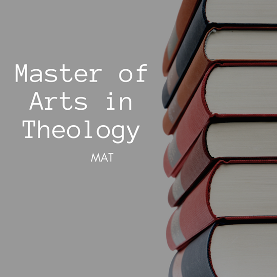 Master of Arts in Theology-MAT Online